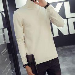 Danjieshi - Plain Knit Pullover