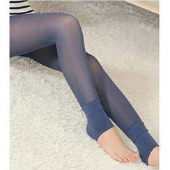 Little Flower - Fleece Lined Leggings