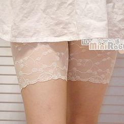Angel Love - Lace-Hem Leggings
