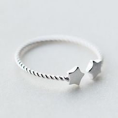 A'ROCH - Star 925 Sterling Silver Open Ring