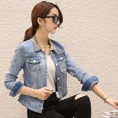 Romantica - Studded Denim Jacket