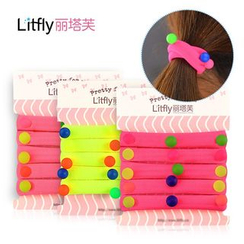 Litfly - Beaded Hair Tie