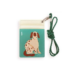 LIFE STORY - Animal Illustration Card Holder - Dog