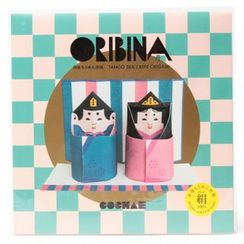 cochae - cochae : ORIBINA Set Tan (2 Types x 2)
