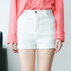 Rabbitstyle - Cuffed Shorts