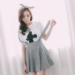 Lucky Leaf - Suspender Skirt
