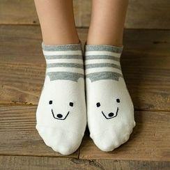MITU - Set of 4: Printed Socks