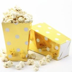 Palmy Parties - Set of 12: Disposable Printed Paper Popcorn Cup