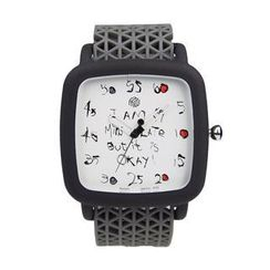 Moment Watches - BE LATE Moment to Giggle Strap Watch