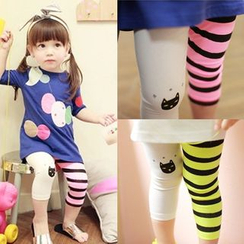 Seashells Kids - Kids Color Block Leggings