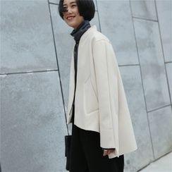 DOUX - 長尾拉鍊夾克
