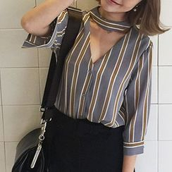 Jolly Club - Striped Blouse