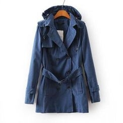 LULUS - Hooded Trench Coat