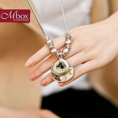 Mbox Jewelry - Long Crystal Necklace
