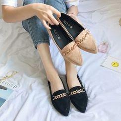 QQ Trend - 尖頭平跟鞋