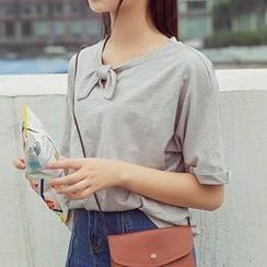 Cloud Nine - Bow Short Sleeve T-Shirt