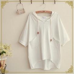 Fairyland - Short-Sleeve Hood T-Shirt