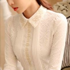 Cottony - Lace Blouse