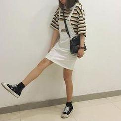 Dasim - Applique Jumper Skirt