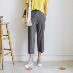JUSTONE - Tapered Dress Pants