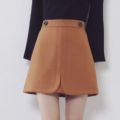 Ashlee - Plain A-line Skirt