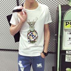RIVOLO - Print Short-Sleeve T-Shirt