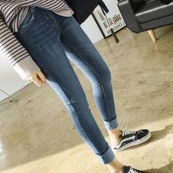 YASOO - Washed Skinny Jeans