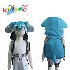 Kidland - Kids Elephant Backpack with Hood