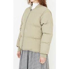Someday, if - Zip-Up Padded Jacket