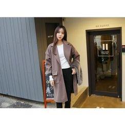 Envy Look - Single-Breasted Oversized Coat