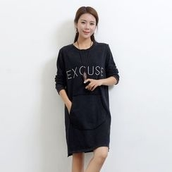 Waypoints - Lettering Long Sleeve Tunic