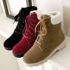 Sidewalk - Kids Lace Up Short Boots