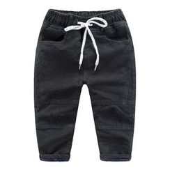 DEARIE - Kids Fleece Lined Jeans