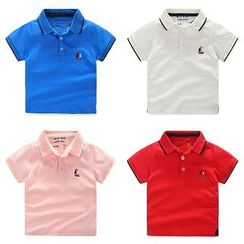 WellKids - Kids Embroidered Polo Shirt