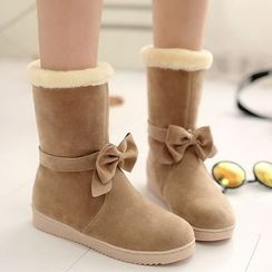 Sidewalk - Kids Fleece Short  Boots