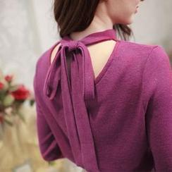 Tokyo Fashion - Tie Back Knit Top