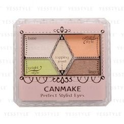 Canmake - Perfect Stylist Eyes (#13 Sunny Garden)