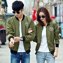 Azure - Couple Matching Bomber Jacket