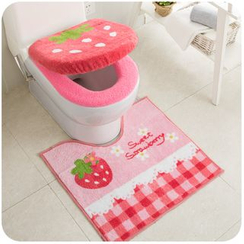 Momoi - Fleece Toilet Seat Cover