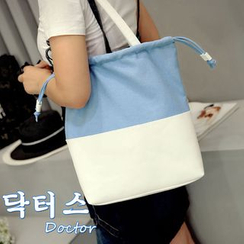 Clair Fashion - Color-Block Tote Bag