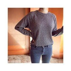 MASoeur - Round-Neck Long-Sleeve T-Shirt