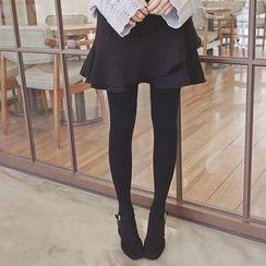 mimi&didi - Ruffle-Hem Mini Skirt