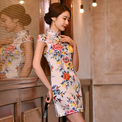 Janelle Qipao - 碎花旗袍