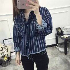 Neeya - Striped Denim Shirt