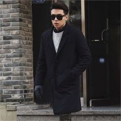 Superstar.i - Notched-Lapel Single-Breasted Coat
