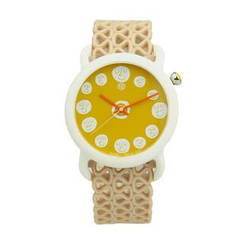 Moment Watches - BE CHEERY Time to smile Strap Watch