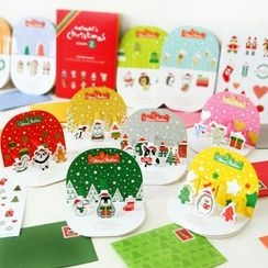 Homey House - Set of 10: Christmas Card