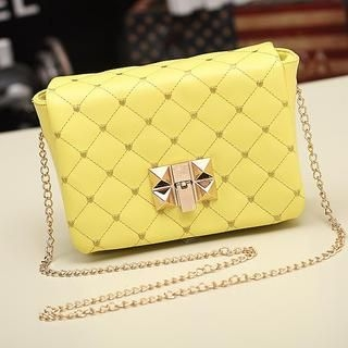 Miss Sweety - Quilted Chain-Strap Cross Bag