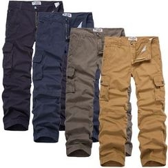 Constein - Plain Cargo Pants