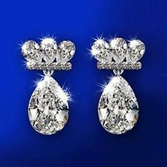 Nanazi Jewelry - CZ Water Drop Earrings